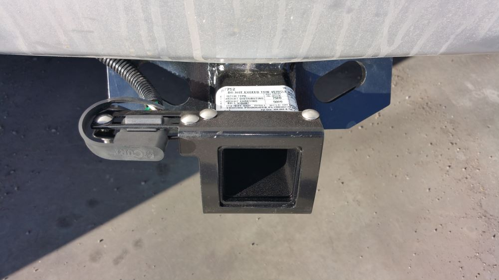 Trailer Hitch Wiring Harness Bracket : Curt easy mount bracket for or way flat trailer