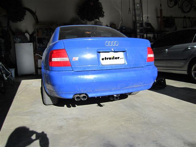1999 audi a4 curt trailer hitch receiver custom fit class i 1 1 4 rh etrailer com Audi A4 Repair Manual 2001 Audi A4 Quattro