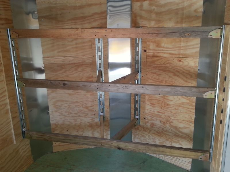 "Enclosed Trailer Shelving >> E-Track Wood Beam Socket for Standard 2"" Lumber - Qty 1 ..."