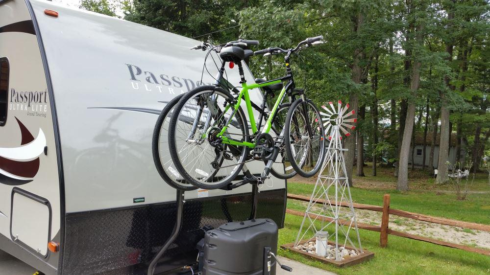Stromberg Carlson Bike Bunk Trailer Mounted Bike Rack