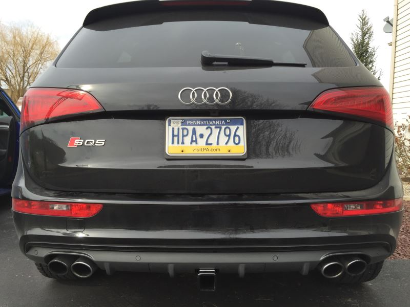 2016 Audi Sq5 Trailer Hitch