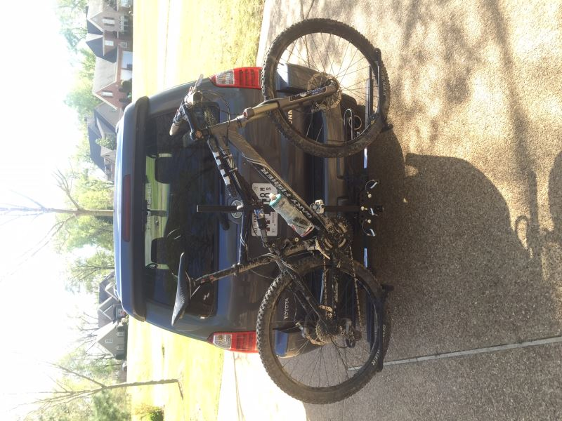 Maxxhaul Platform Style 2 Bike Carrier For 1 1 4 Quot And 2