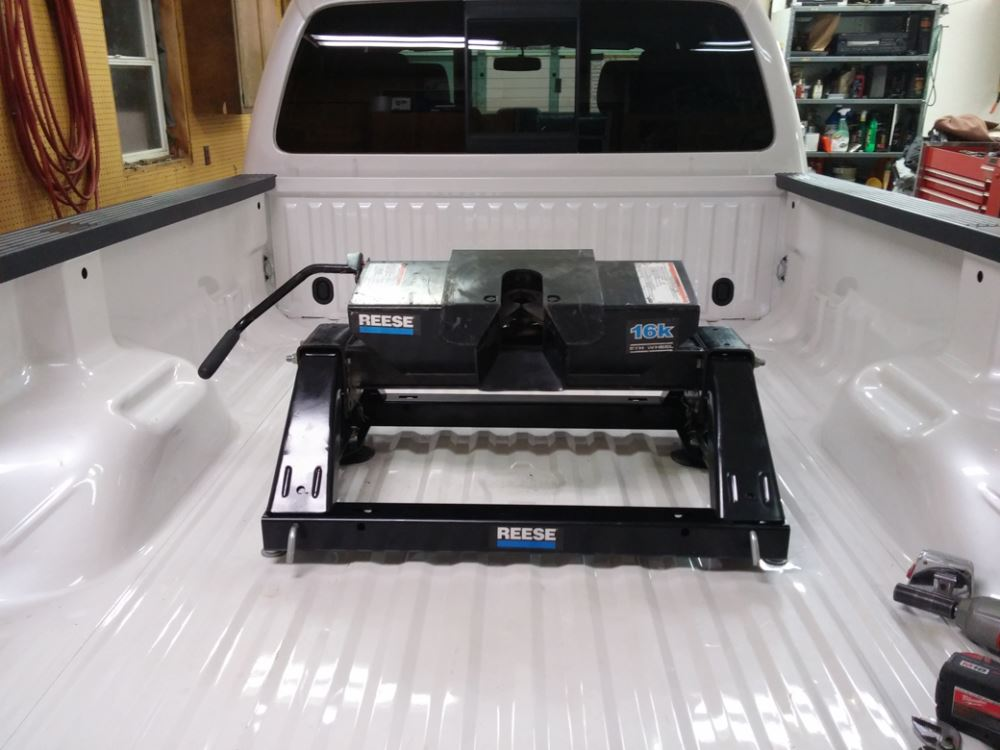 2016 Ford F250 >> Under-Bed Rail and Installation Kit for Reese Elite Series 5th Wheel and Gooseneck Trailer ...