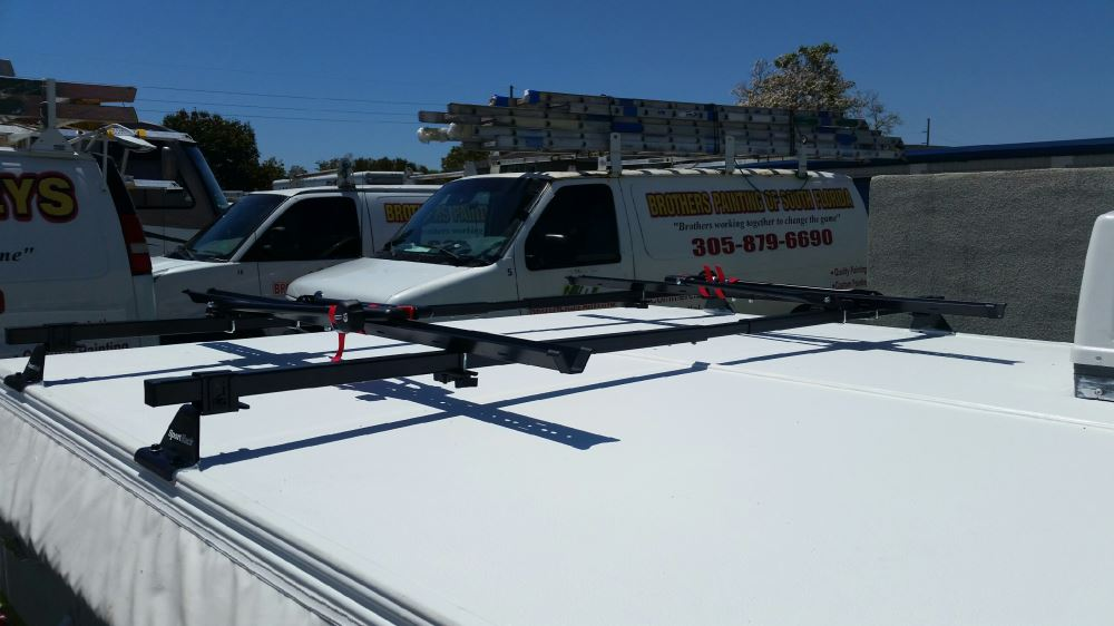 Sportrack Pop Up Camper Roof Rack Square Crossbars