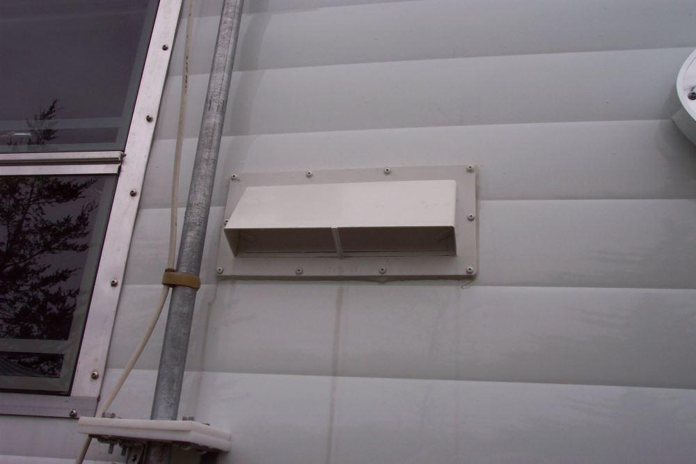 Ventline Exterior Wall Vent For Rv Range Hood Locking