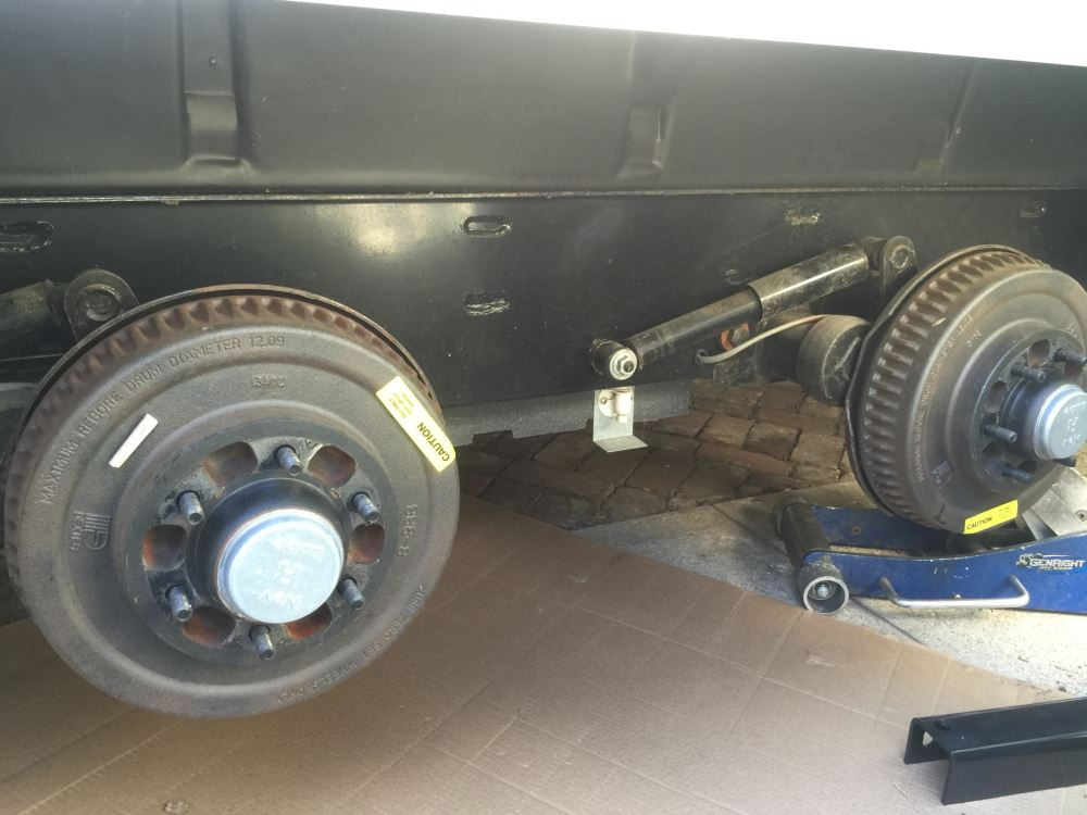 Travel Trailer Torsion Axle Lift Kit