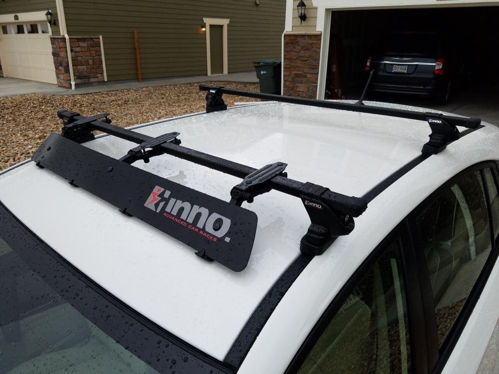 Inno Roof Rack >> Inno Square Crossbars Steel Black 50 Long Qty 2