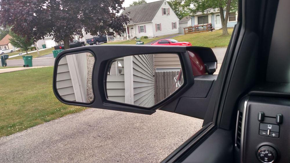 2017 Chevrolet Silverado 1500 Custom Towing Mirrors Cipa