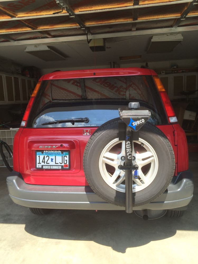 Surco Spare Tire 3 Bike Carrier Surco Products Spare Tire