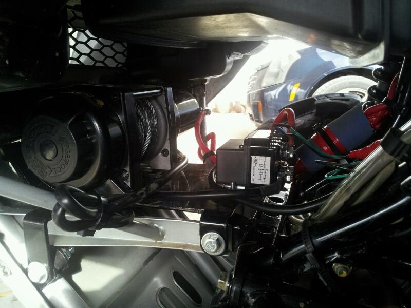 2007 Honda Trx 500 Foreman Rubicon Atv Winch Mount