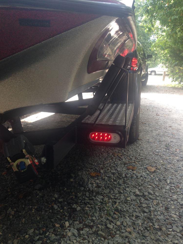Led Trailer Tail Light Stop Tail Turn Backup