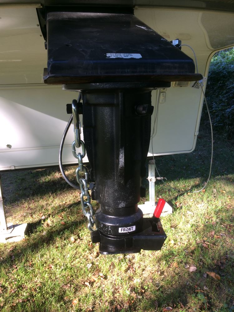 """Fifth Wheel Adapter >> Convert-A-Ball Cushioned 5th-Wheel-to-Gooseneck Adapter - 12"""" to 16"""" Tall - 20,000 lbs Convert-A ..."""