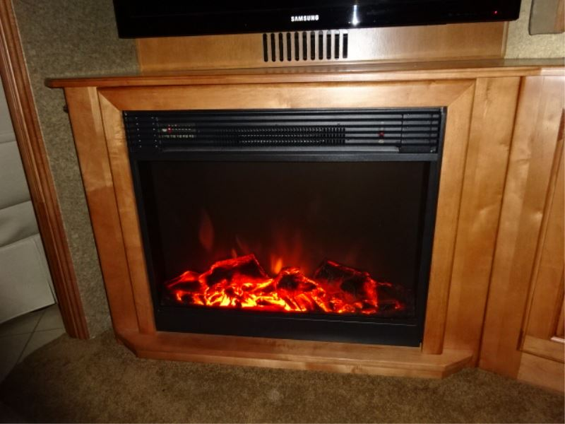 26 quot electric fireplace with remote