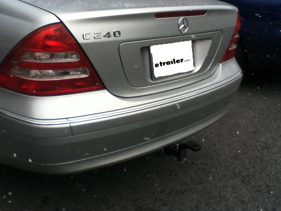 2004 Mercedes-Benz C-Class Curt Trailer Hitch Receiver - Custom Fit