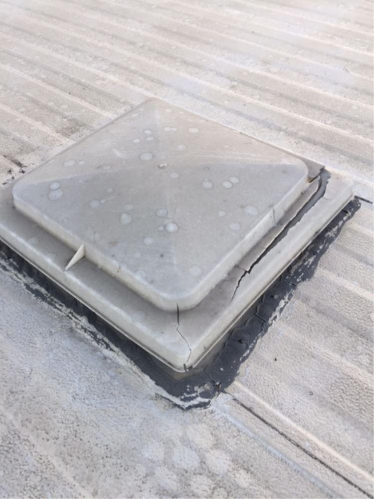 Vent Cover For Jensen Trailer Roof Vents White Ventmate