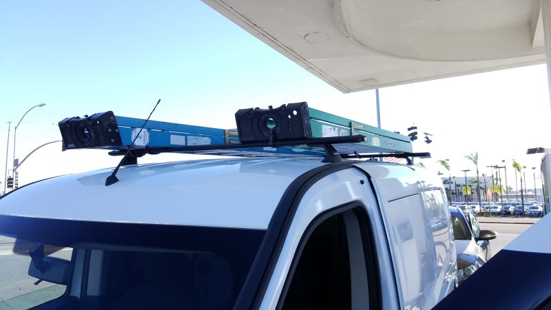 Rola Ape Series Roof Rack Fixed Mounting Points