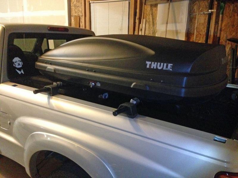 Yakima Bedrock Truck Bed Cargo Rack Full Size Trucks