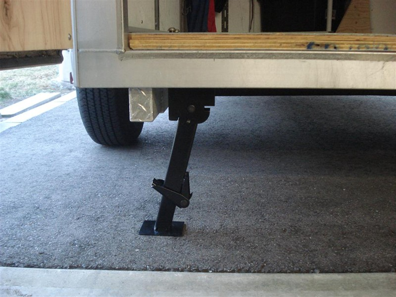 Popular Trailer Jack Stabilizer Jack Pull Down Stabilizer Bolt On Weld On 6