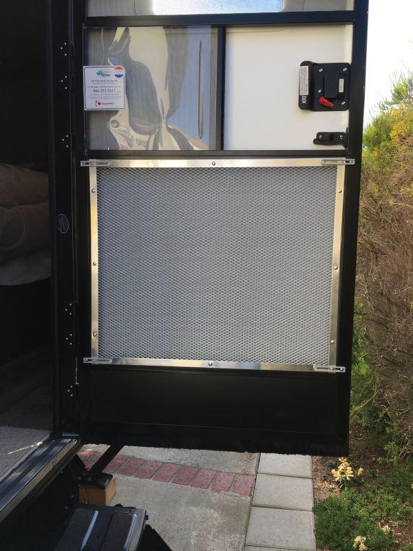 Camco Rv Adjustable Screen Door Standard Grille Aluminum