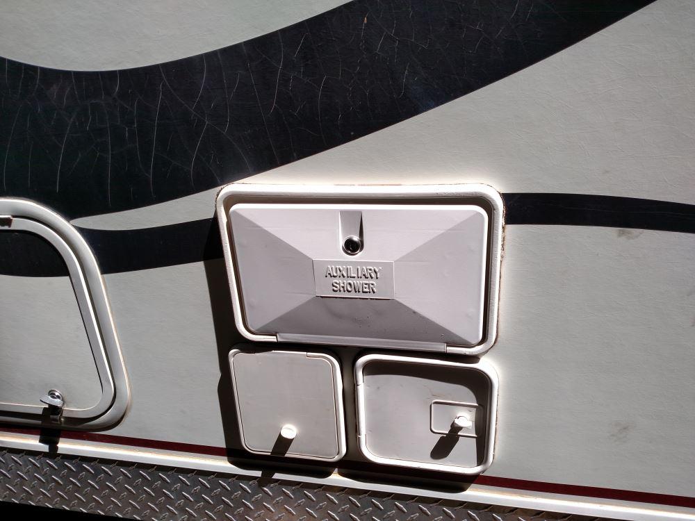 Rv Shower Door Parts - Jr Products 620pw Exterior Shower