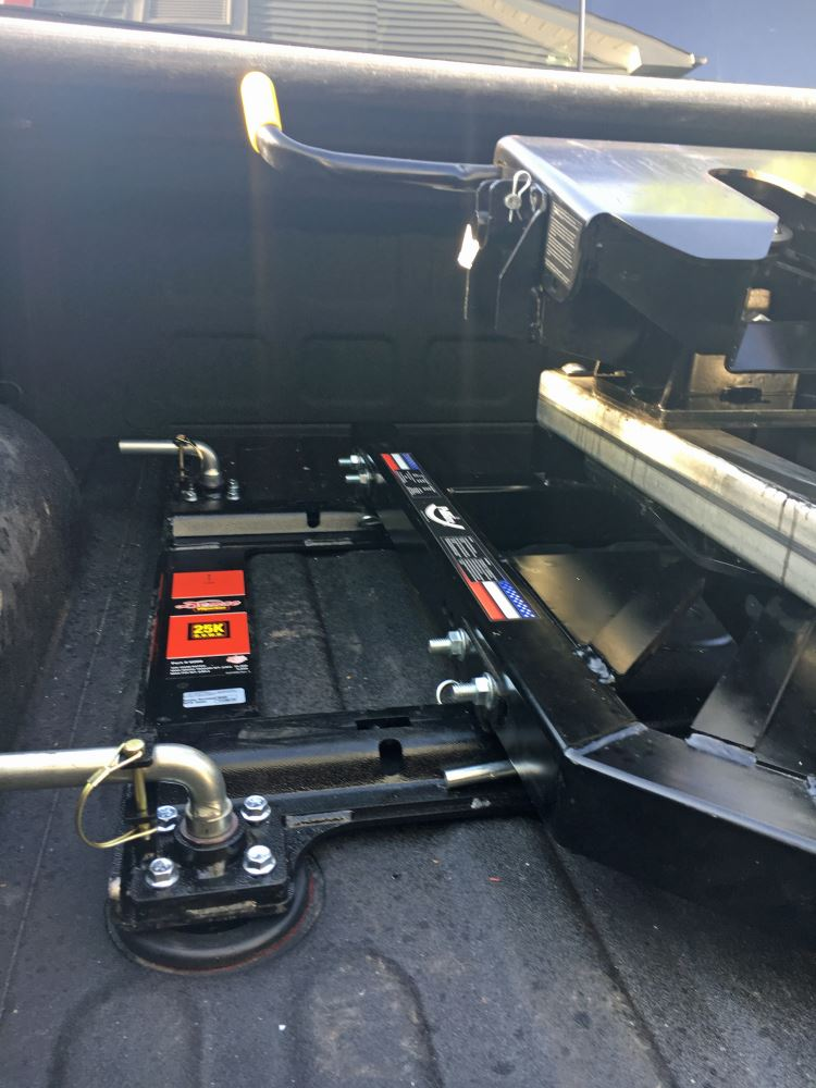 Demco 5th Wheel Rail Adapter for Ram OEM 5th Wheel Towing Prep Package - 25,000 lbs Demco RV ...