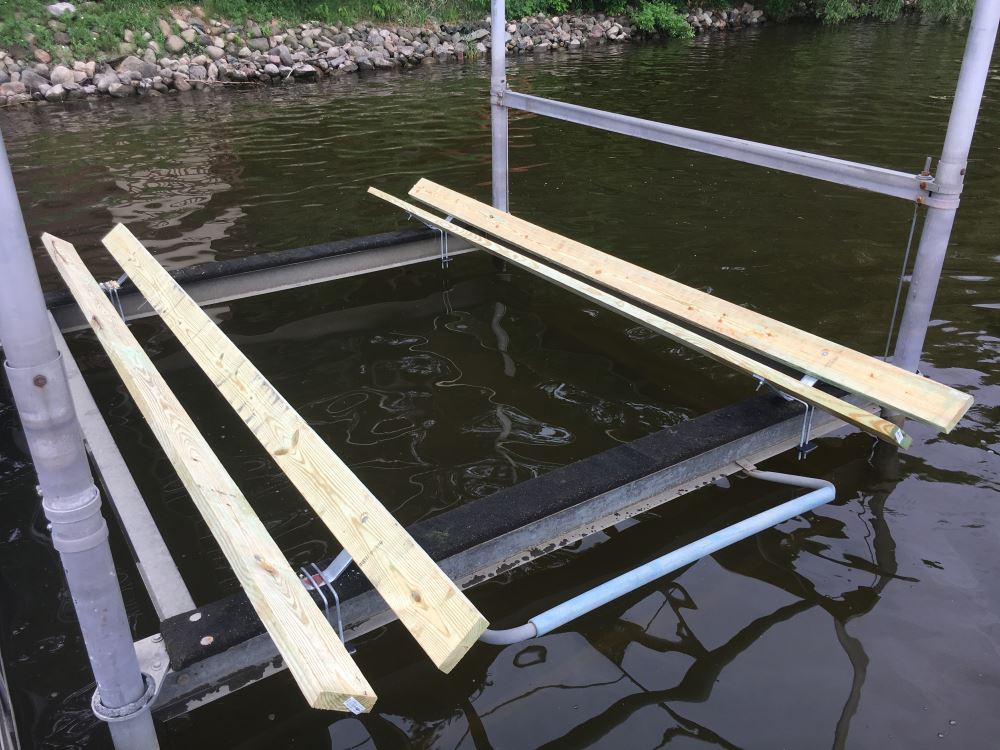 CE Smith Bolster Bracket for Pontoon Boat Trailers