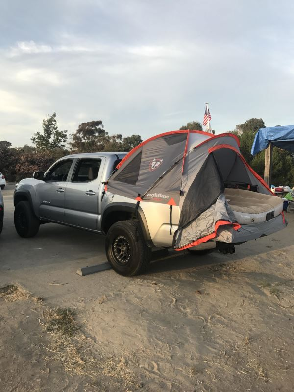 2017 Toyota Tacoma Truck Bed Tents Rightline Gear