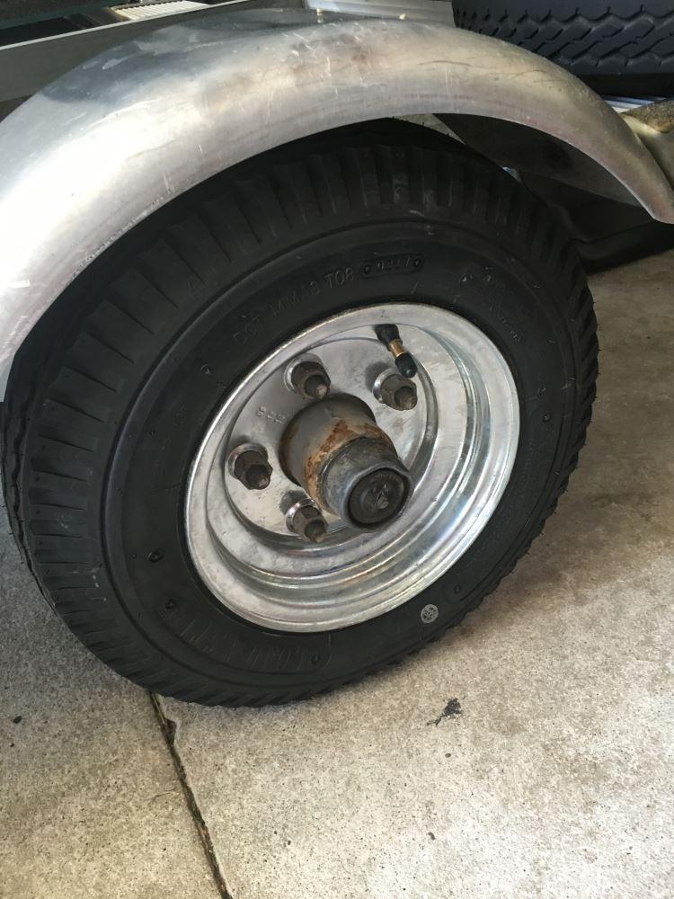 2012 chevrolet equinox kenda bias trailer tire with 8 galvanized wheel 5 on 4 1 2. Black Bedroom Furniture Sets. Home Design Ideas