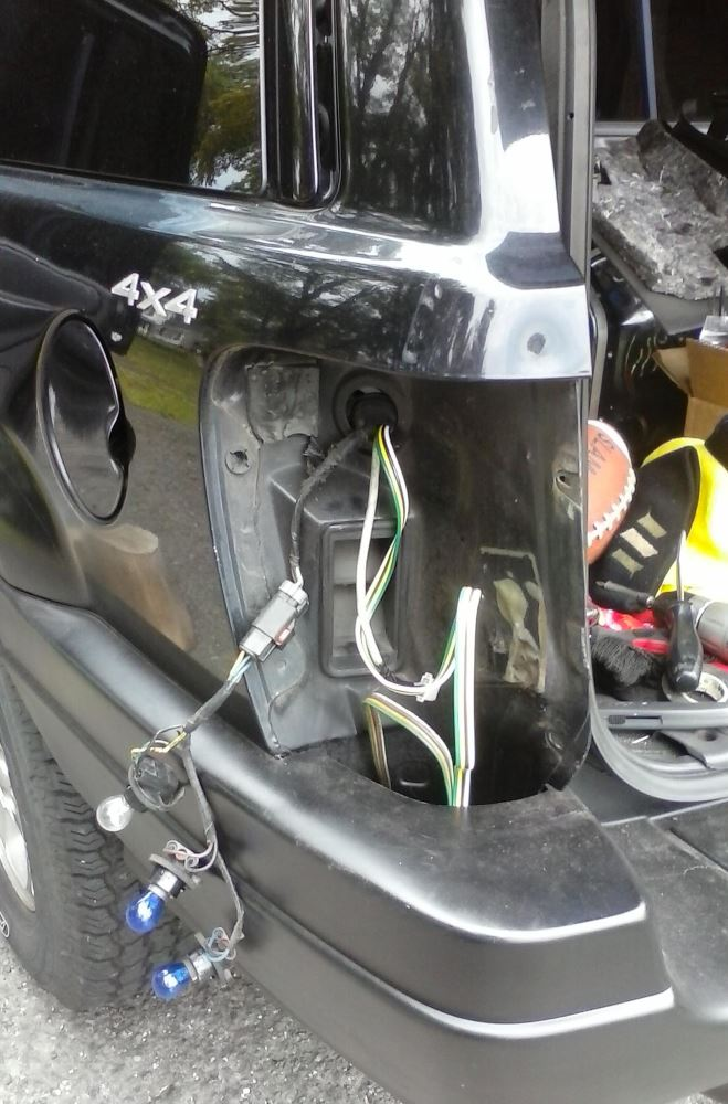 1999 jeep grand cherokee t one vehicle wiring harness with 4 pole flat trailer connector. Black Bedroom Furniture Sets. Home Design Ideas
