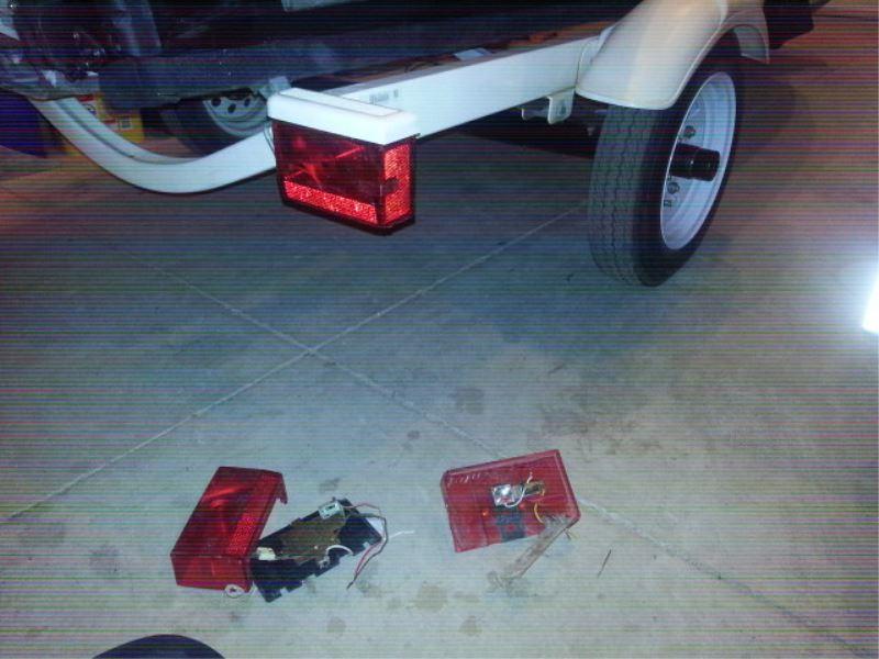 Trailer Tail Light Wiring