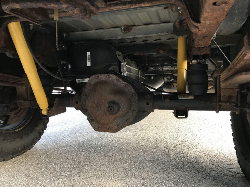 2016 Ram 2500 Timbren Rear Suspension Enhancement System