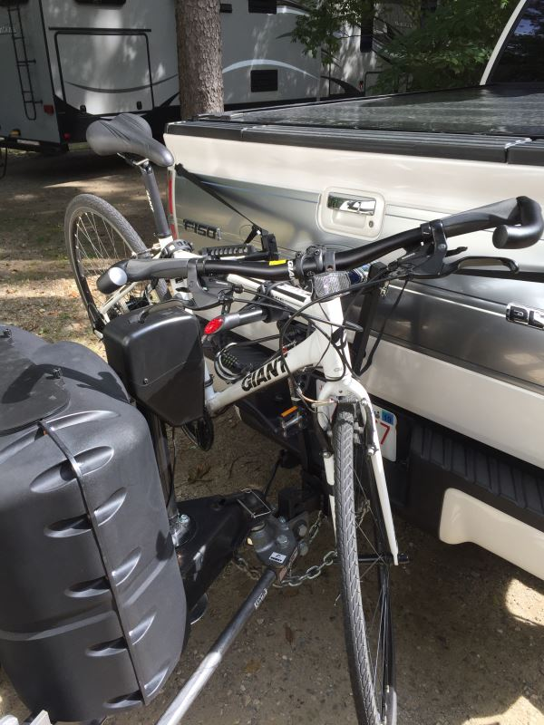 Curt Clamp On 3 Bike Rack For 2 Quot Ball Mounts Towing Curt