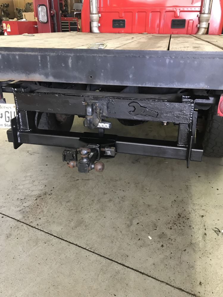 Draw-Tite Ultra Frame Service Body Trailer Hitch Receiver - Weld On
