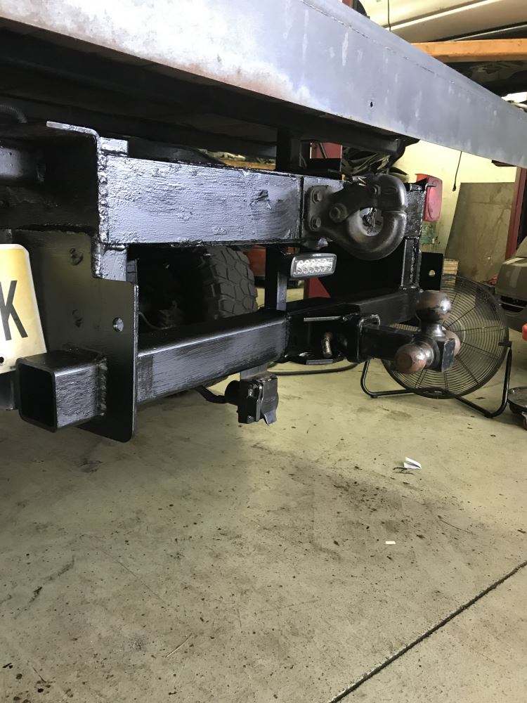 Service Body Hitches : Ford van draw tite ultra frame service body trailer