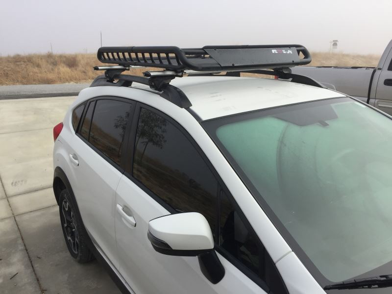Subaru Crosstrek Roof Rack >> Best Subaru XV Crosstrek Roof Basket | etrailer.com