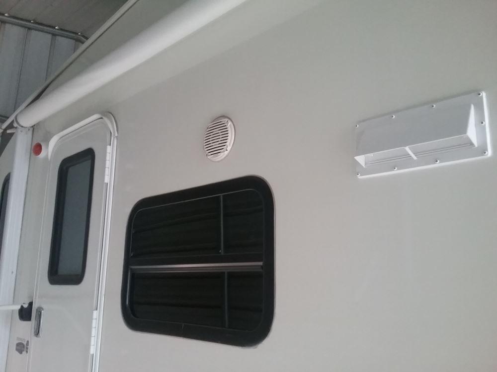 Ventline Exterior Wall Vent for RV Range Hood - Locking
