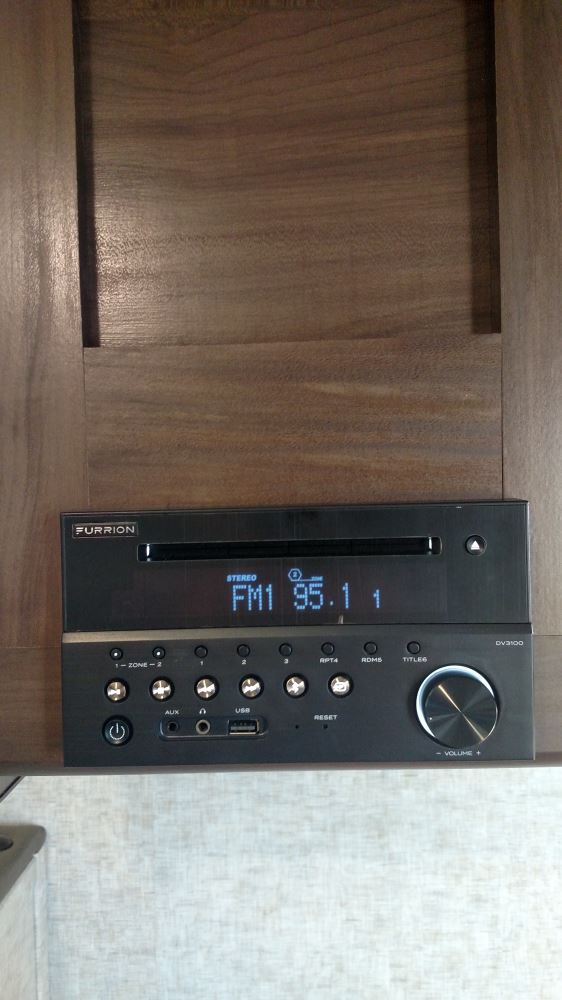 Furrion Stereo With Bluetooth And Nfc 160 Watts 2 Zone