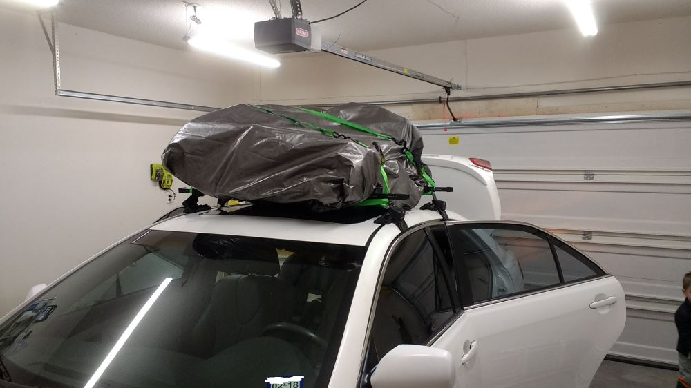 SportRack Semi-Custom Roof Rack for Naked Roofs - Square Crossbars