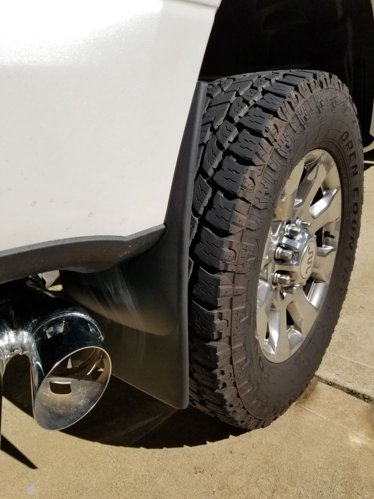 2017 Ford F-250 Super Duty WeatherTech Mud Flaps - Easy ...