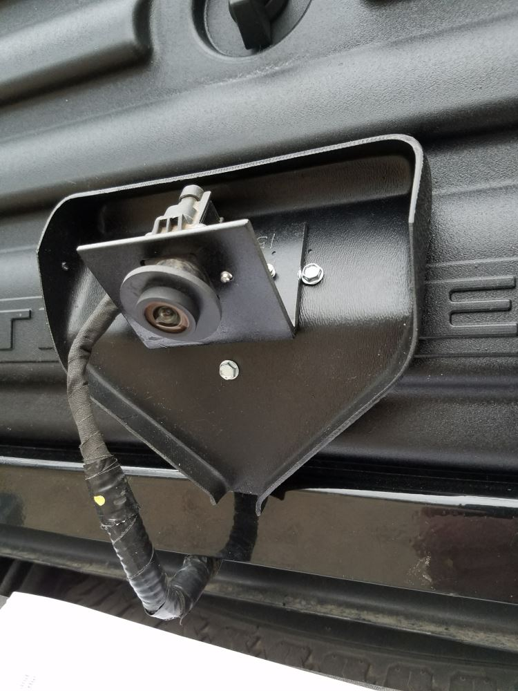 5Th Wheel Tailgate >> Backup Camera Relocation Kit for Husky Liners Premium 5th Wheel Louvered Tailgate - Ford F150 ...