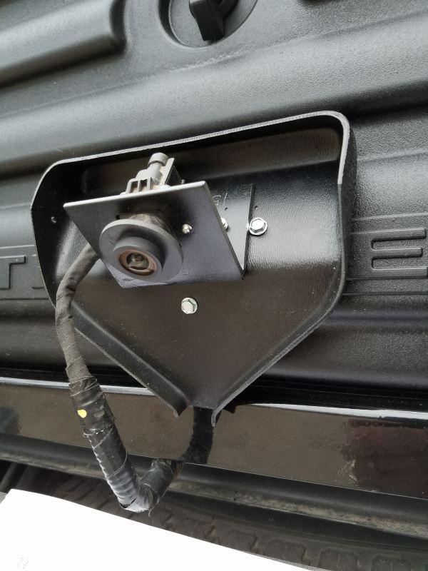 Backup Camera Relocation Kit For Husky Liners Premium 5th