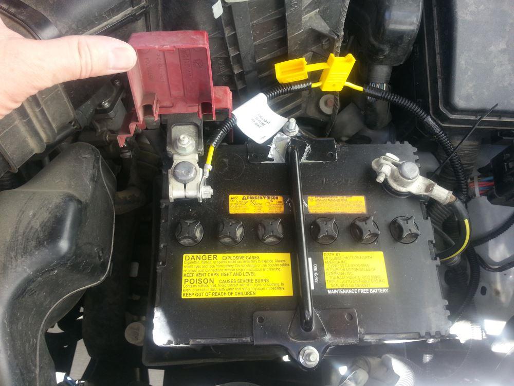 2008 Mitsubishi Outlander T-One Vehicle Wiring Harness ...