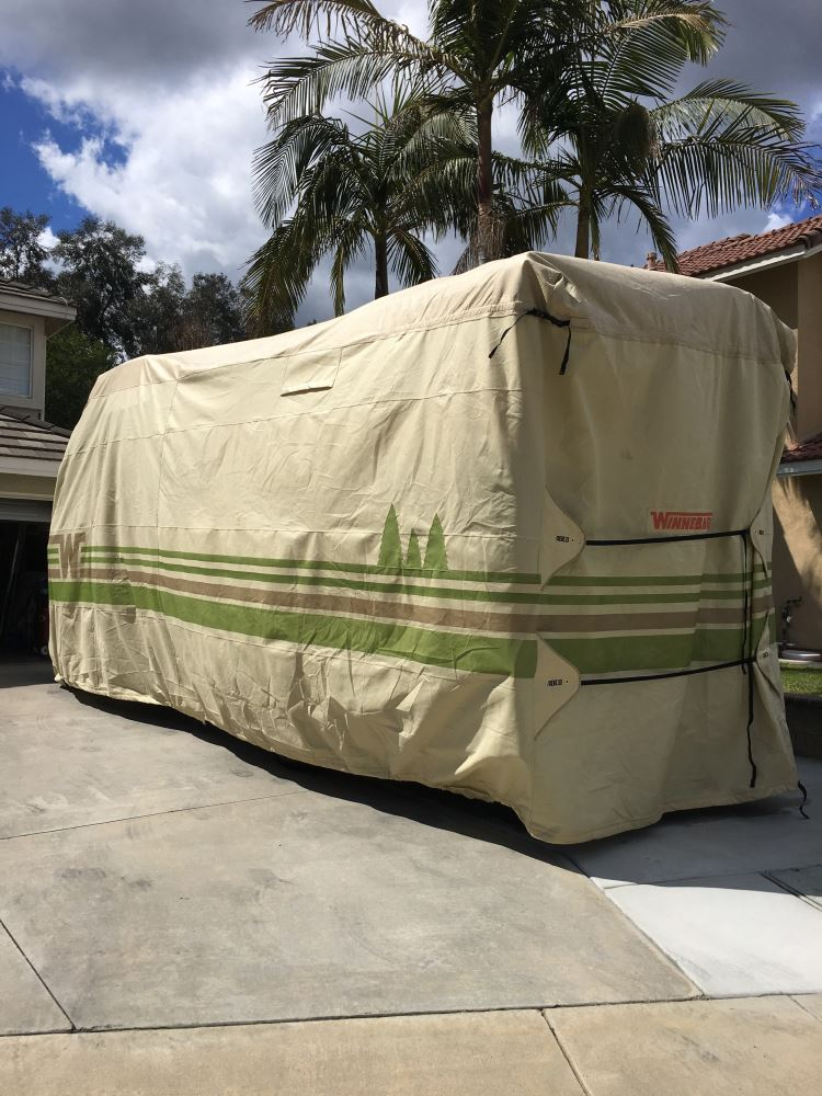 Adco RV Cover for Winnebago View and Navion Class C Motorhome - Up