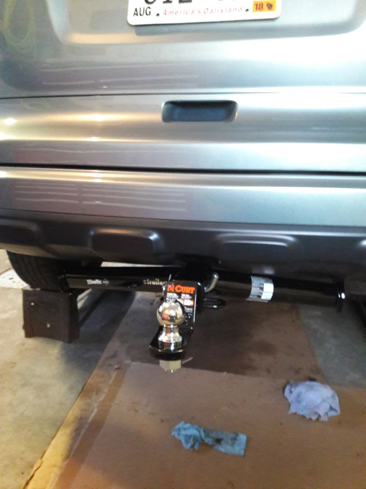 Draw-Tite Max-Frame Trailer Hitch Receiver - Custom Fit - Class III
