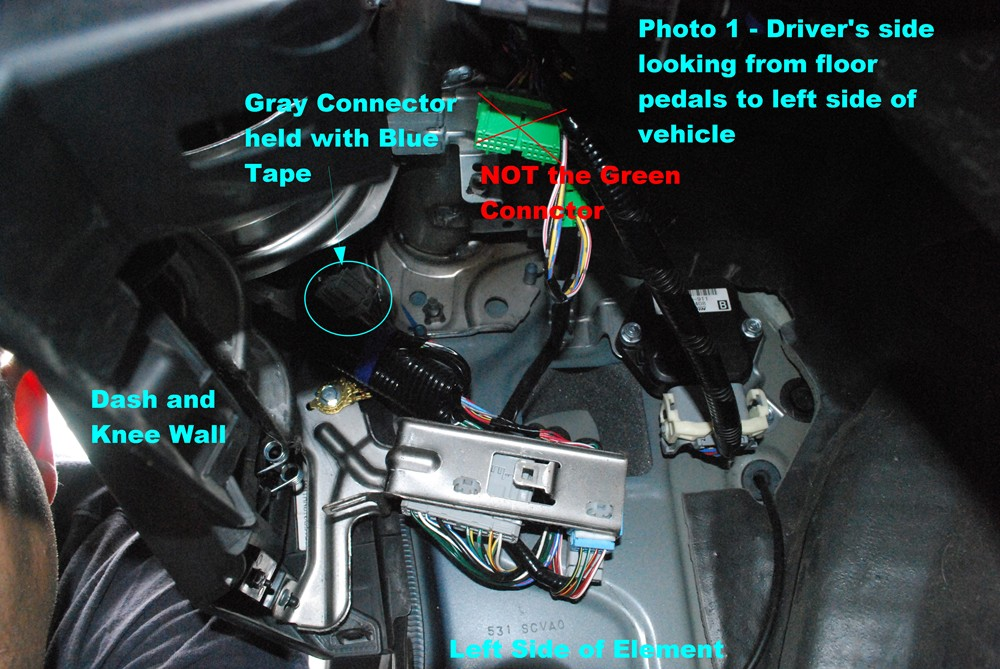 honda element t one vehicle wiring harness with 4