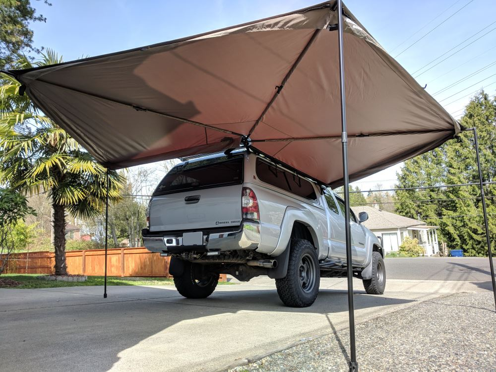 Rhino Rack Batwing Swing Out Awning Roof Rack Mount