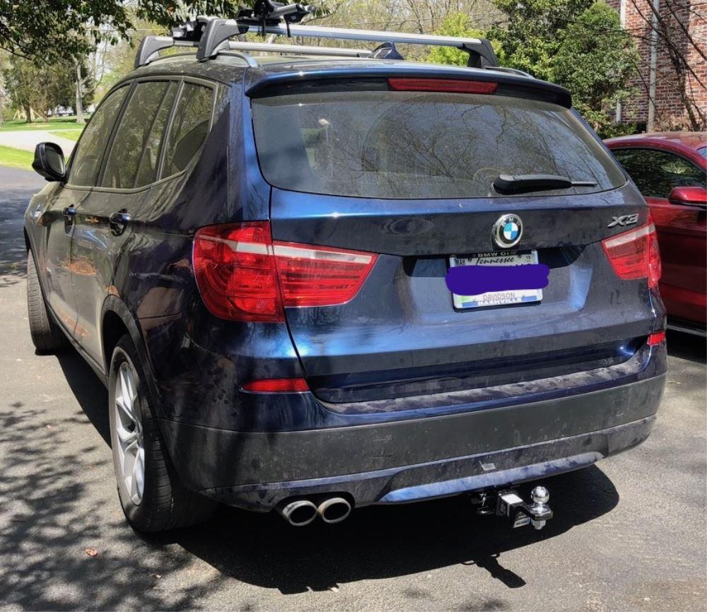 2013 BMW X3 Draw-Tite Max-Frame Trailer Hitch Receiver