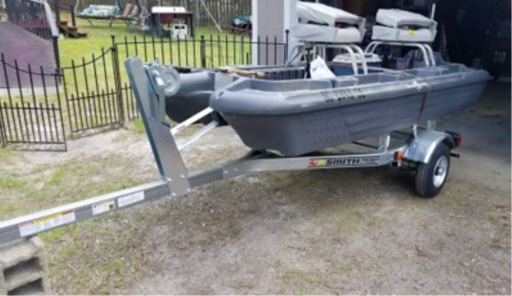 CE Smith Multi Sport Boat and Kayak Trailer w/ Bunks - 8