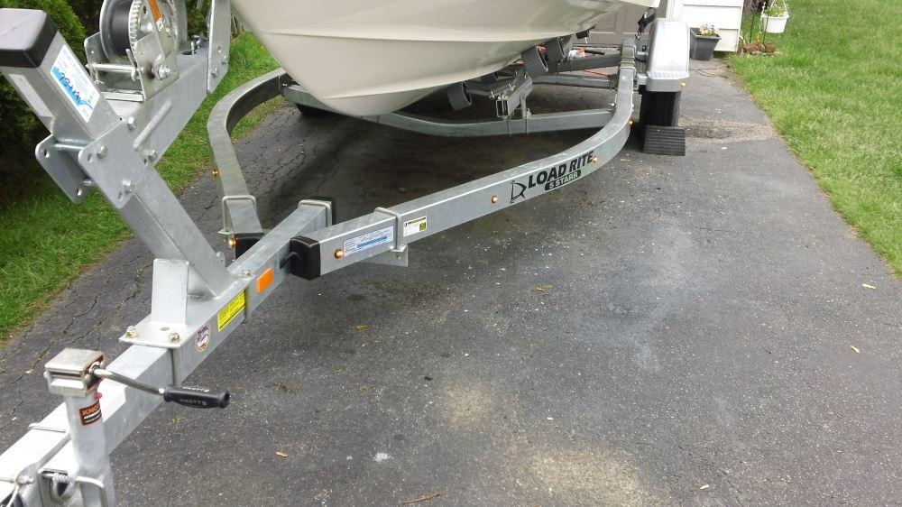 25 Ft 5-Way Trailer Wiring Harness - Wishbone Style - 30