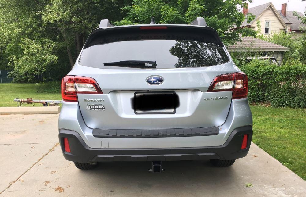"Jayco Travel Trailer Parts >> 2018 Subaru Outback Wagon Draw-Tite Max-Frame Trailer Hitch Receiver - Custom Fit - Class III - 2"""